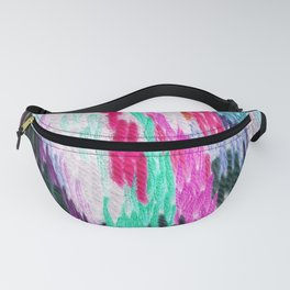 embroidered space Fanny Pack