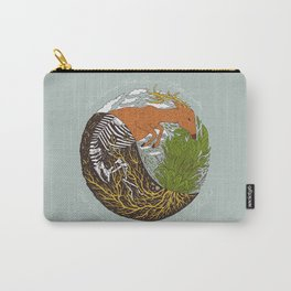 Plants & Animals Eat Each Other Carry-All Pouch
