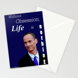 John Waters Obsession Life Quote Stationery Cards