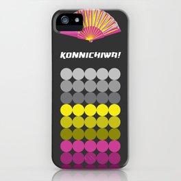 Konnichiwa 1 iPhone Case