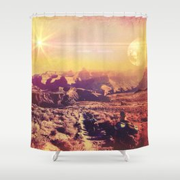 Globetrotter Shower Curtain