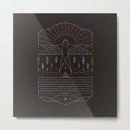 The Navigator Metal Print
