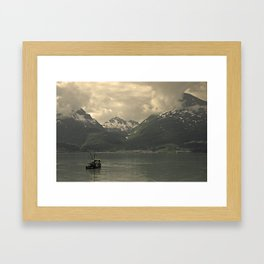 Valdez Bound Framed Art Print