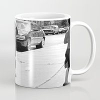 brooklyn Mugs featuring brooklyn by Teresa Gabry