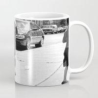 brooklyn Mugs featuring brooklyn by Teresa Gabry