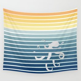 Octopus Gradient Wall Tapestry