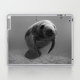 Manatee One B&W Laptop & iPad Skin