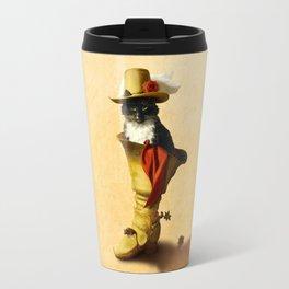 Little Puss in Boots Travel Mug