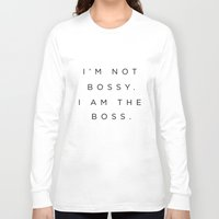 boss Long Sleeve T-shirts featuring Boss by Trend
