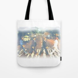 John, Paul, George, Ringo Tote Bag