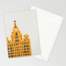 Liver Building Liverpool Stationery Cards