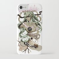 tarot iPhone & iPod Cases featuring Star Tarot by A Hymn To Humanity