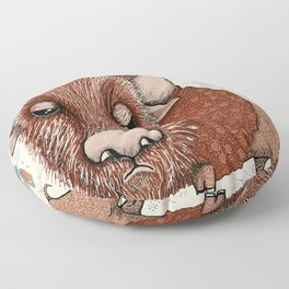 American Buffalo Bison Southwest Southwestern Floor Pillow