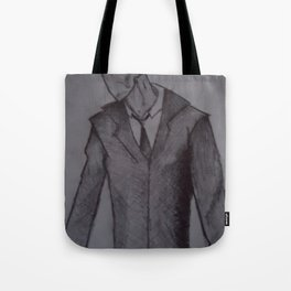 Man without a face. Tote Bag