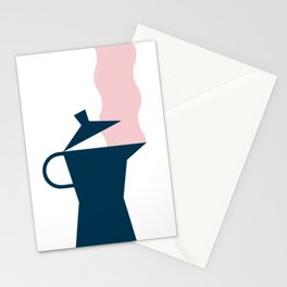 Stove top coffee Stationery Cards