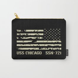 USS Chicago Carry-All Pouch