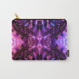 Dreaming Deeply Wavy Abstract Pattern Carry-All Pouch