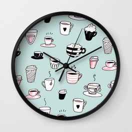 Tea, coffee, light refreshments? Wall Clock