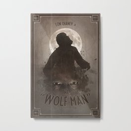Horror Classics - The Wolf Man Metal Print
