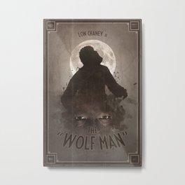 Horror Classics - The Wolf Man Metal Print