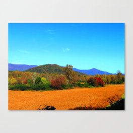 October Crop Canvas Print