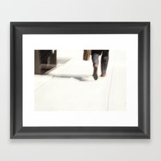 On The Go Framed Art Print