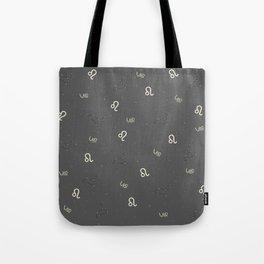 Leo Pattern Tote Bag
