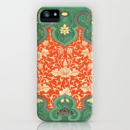 Examples of Chinese Ornament XCIV iPhone Case