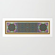 Egyptian Garden Art Print