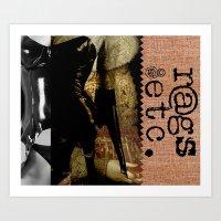 rags_etc3 Art Print