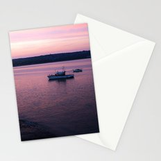 Dusk in the Harbour. Stationery Cards