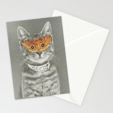 The cat's eyes have it Stationery Cards