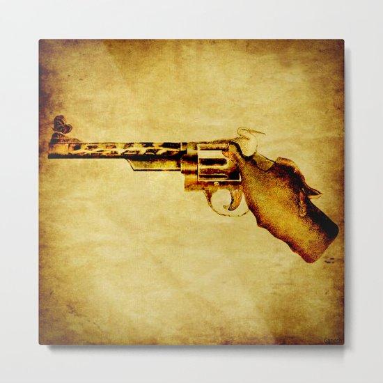 Zoo revolver Metal Print