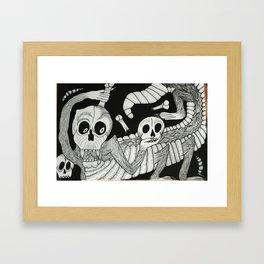 Jose's Monster Framed Art Print