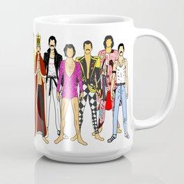 Freddie Line Up Coffee Mug