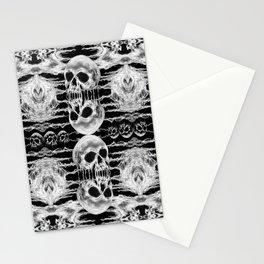 Freak Skull Pattern Stationery Cards