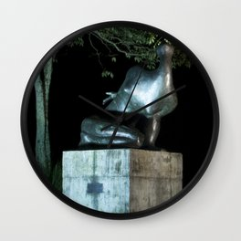 Brazilian Sculpture Museum Wall Clock