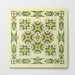 shaman trance | tribal pattern Metal Print