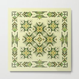 shaman trance | tribal pattern Metal Print
