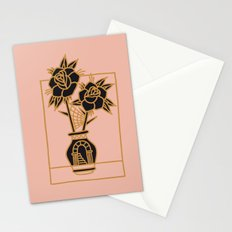 FLOWERS AND YOU Stationery Cards