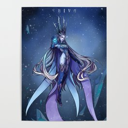 The Goddes of Ice Poster