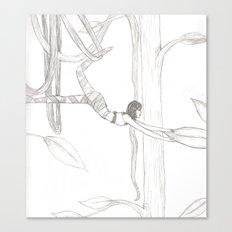 Vine-Swinging Canvas Print