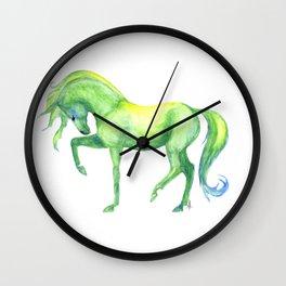 Emerald Horse Wall Clock
