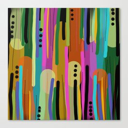 Forest of  Colors Canvas Print