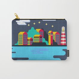 Town on island Carry-All Pouch
