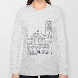 Basilica di Santa Cecilia in Trastevere Long Sleeve T-shirt