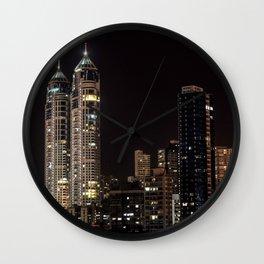 Mumbai India Skyline Wall Clock