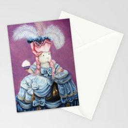 Guinea Pig Marie Antoinette - Let Them Eat Cake Stationery Cards