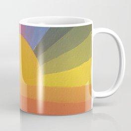Abstract Rainbow love Coffee Mug