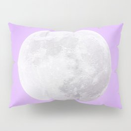 WHITE MOON + LAVENDER SKY Pillow Sham